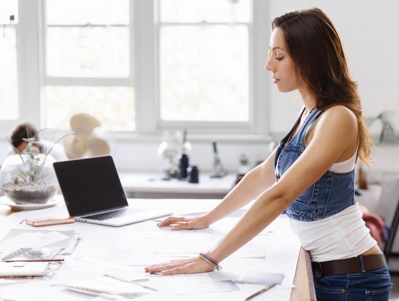 workplace standing desks smarter