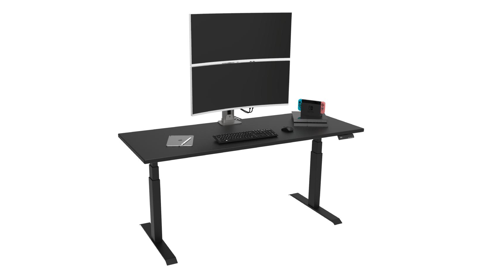dual monitor setup